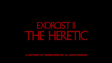 Exorcist II: The Heretic (1977) movie title