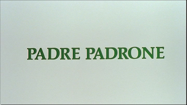 Padre padrone movie title