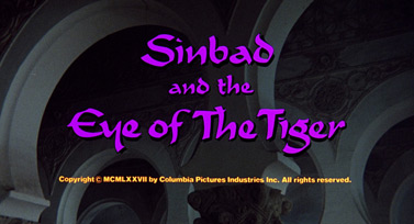 Sinbad and the Eye of the Tiger (1977) Columbia Pictures - blu-ray movie title