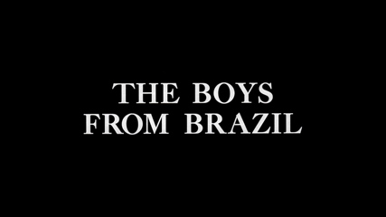 The Boys from Brazil (1978) Gregory Peck - Blu-ray movie title
