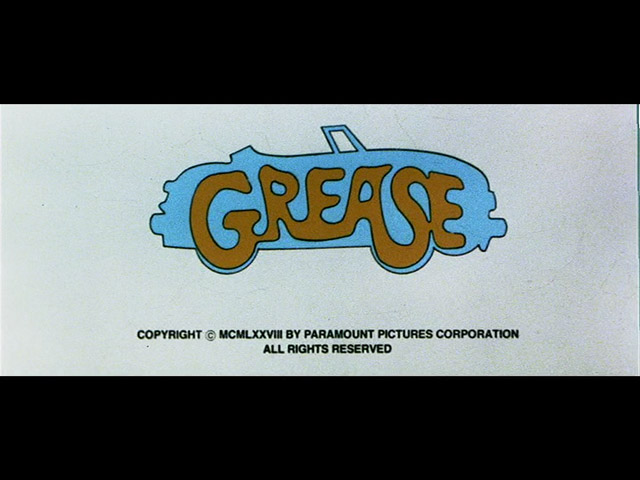 Grease 1978 movie title
