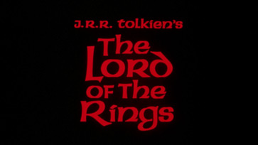 The Lord of the Rings (1978) Wayne Fitzgerald - blu-ray movie title