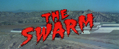 The Swarm (1978) Michael Caine - blu-ray movie title