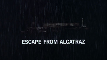 Escape from Alcatraz (1979) Clint Eastwood - blu-ray movie title