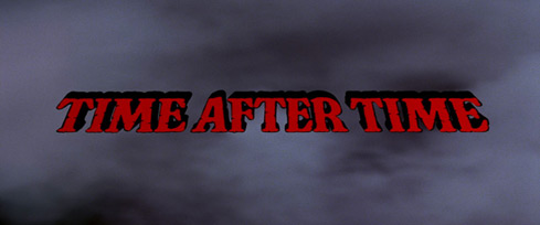 Time After Time (1979) Warner Bros. - blu-ray movie title