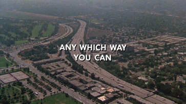 Any Which Way You Can (1980) Clint Eastwood - blu-ray movie title