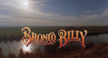 Bronco Billy (1980) Clint Eastwood - blu-ray movie title