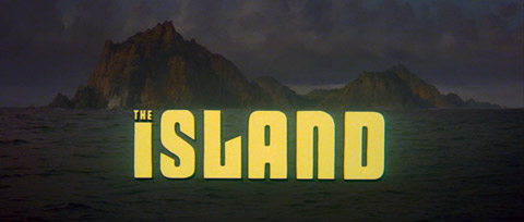 The Island (1980) Michael Caine - blu-ray movie title