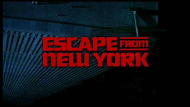Escape from New York movie trailer title