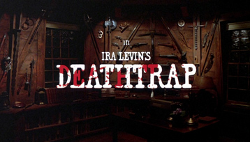 Deathtrap (1982) Michael Caine - blu-ray movie title
