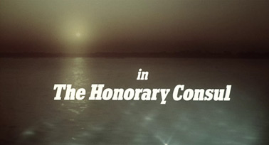 The Honorary Consul (1983) Michael Caine - blu-ray movie title