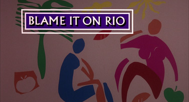 Blame It on Rio (1984) Michael Caine - blu-ray movie title