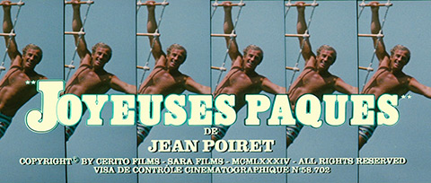 Joyeuses Pâques / Happy Easter (1984) blu-ray movie title