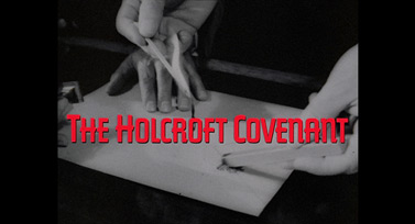 The Holcroft Covenant (1985) Michael Caine - blu-ray movie title