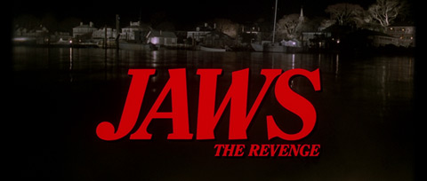 Jaws: The Revenge (1987) Michael Caine - blu-ray movie title