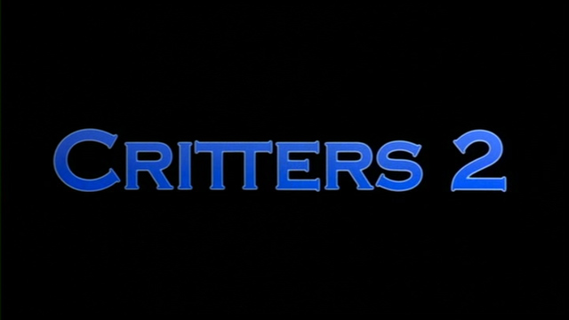Critters 2 1988 movie title