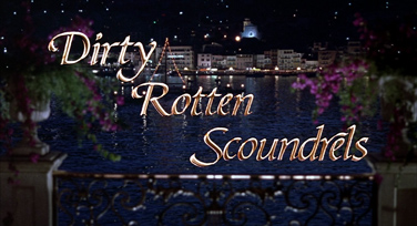 Dirty Rotten Scoundrels (1988) Michael Caine - blu-ray movie title