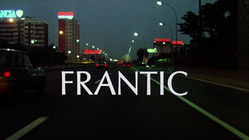 Frantic (1988) Blu-ray movie title