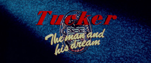 Tucker: The Man and His Dream (1988) Gary Gutierrez - blu-ray movie title