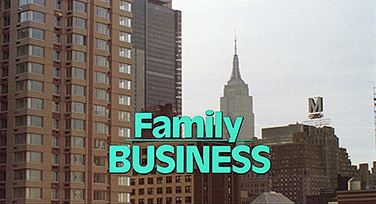 Family Business (1989) Dustin Hoffman - title sequence