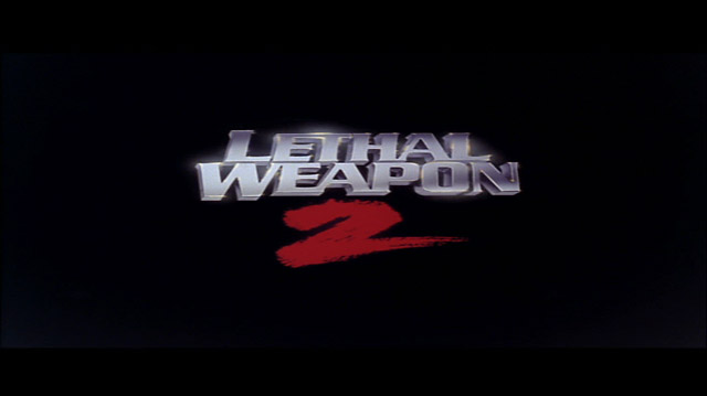 Lethal Weapon 2 movie title