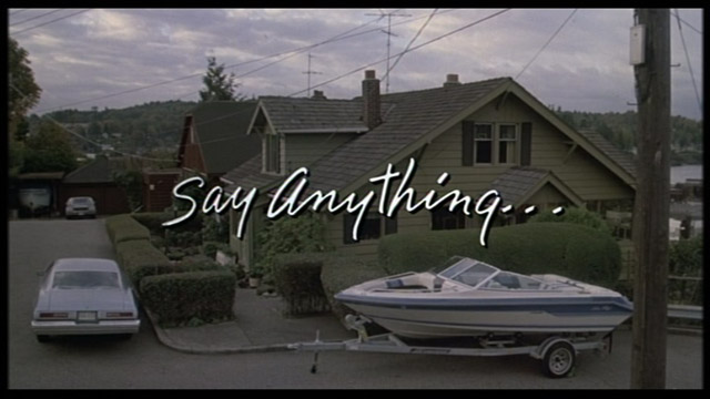 Say Anything... 1989 movie title