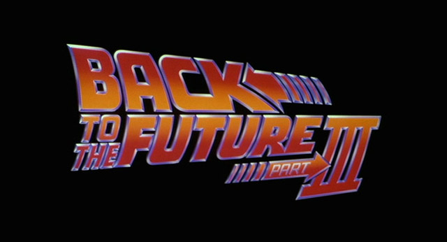 Back to the Future Part III movie title