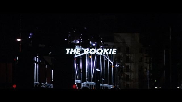 The Rookie 1990 movie title