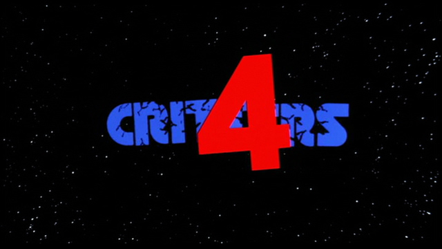 Critters 4 1992 movie title