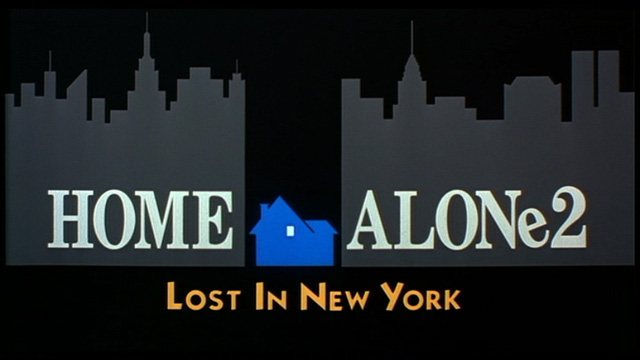 Home Alone 2 Lost in New York 1992 movie title