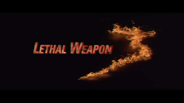 Lethal Weapon 3 movie title