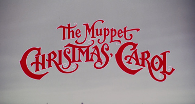 The Muppet Christmas Carol (1992) Michael Caine - blu-ray movie title