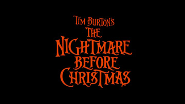 The Nightmare Before Christmas (1993) Blu-ray movie title