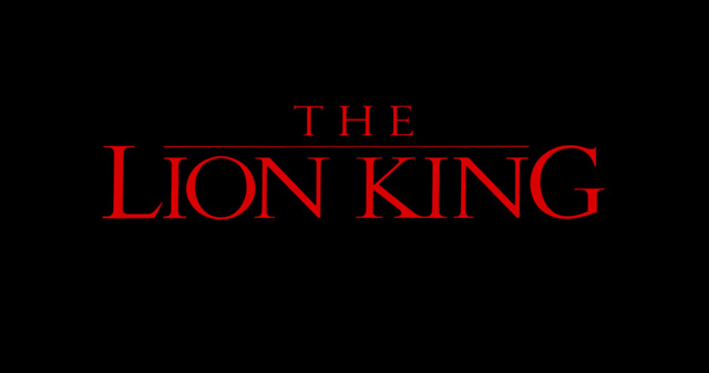 The Lion King (1994) movie title