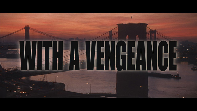 Die Hard: With a Vengeance 1995 movie title