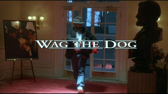 Wag the Dog 1997 movie title