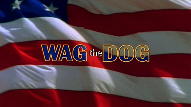 a review on the movie wag the dog Glib cynicism isn't a tremendously appealing quality, but in wag the dog it at least has the benefit of comic precision and polished handling.