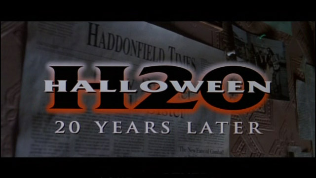 Halloween 7 Halloween H20: 20 Years Later 1998 movie title