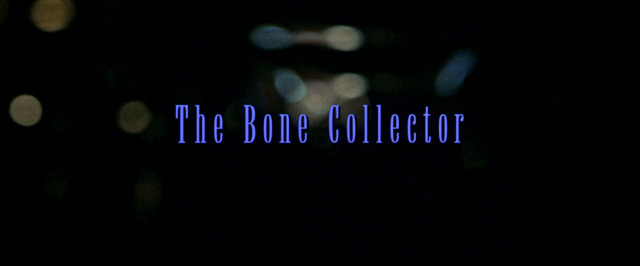 denzel washington the bone collector
