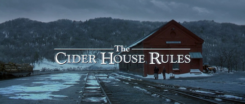 The Cider House Rules (1999) Michael Caine - blu-ray movie title