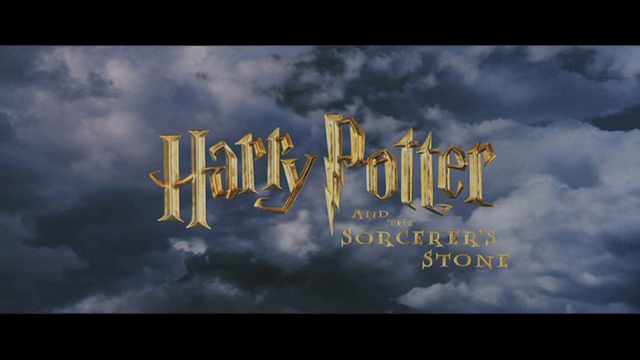 Harry Potter and the Sorcerer's Stone movie title