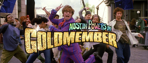 Austin Powers in Goldmember (2002) Michael Caine - blu-ray movie title