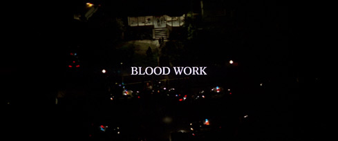 Blood Work (2002) Clint Eastwood - blu-ray movie title