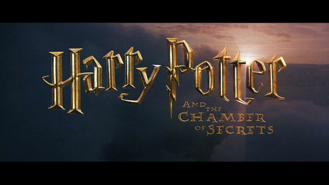 Harry Potter and the Chamber of Secrets 2002 movie title