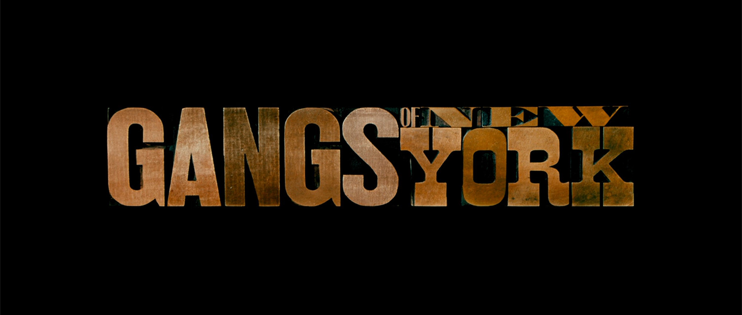 Martin Scorsese: Gangs of New York (2002) title sequence