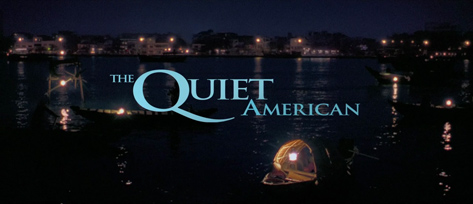 The Quiet American (2002) Michael Caine - blu-ray movie title
