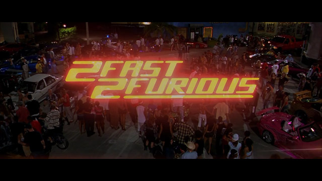 2 Fast 2 Furious 2003 movie title