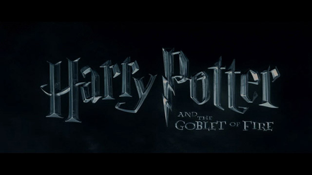 Harry Potter and the Goblet of Fire (2005) movie title