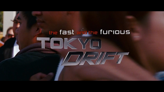 The Fast and the Furious Tokyo Drift 2006 movie title