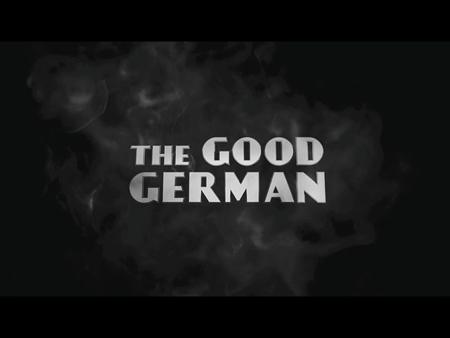The Good German 2006 trailer title